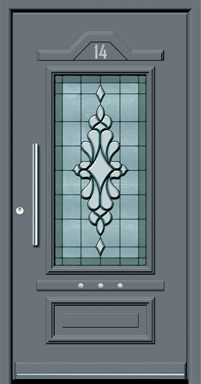 profes 24 entrance doors from inotherm aluminium sch co doors. Black Bedroom Furniture Sets. Home Design Ideas