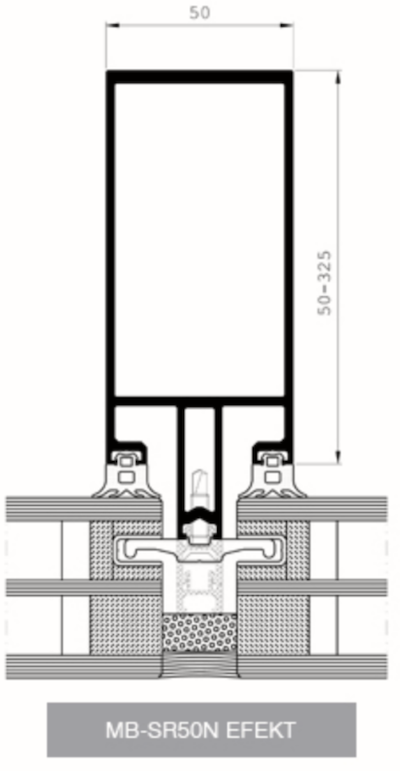 profes 24 pfosten riegel fassaden aus aluminium aluprof aliplast. Black Bedroom Furniture Sets. Home Design Ideas